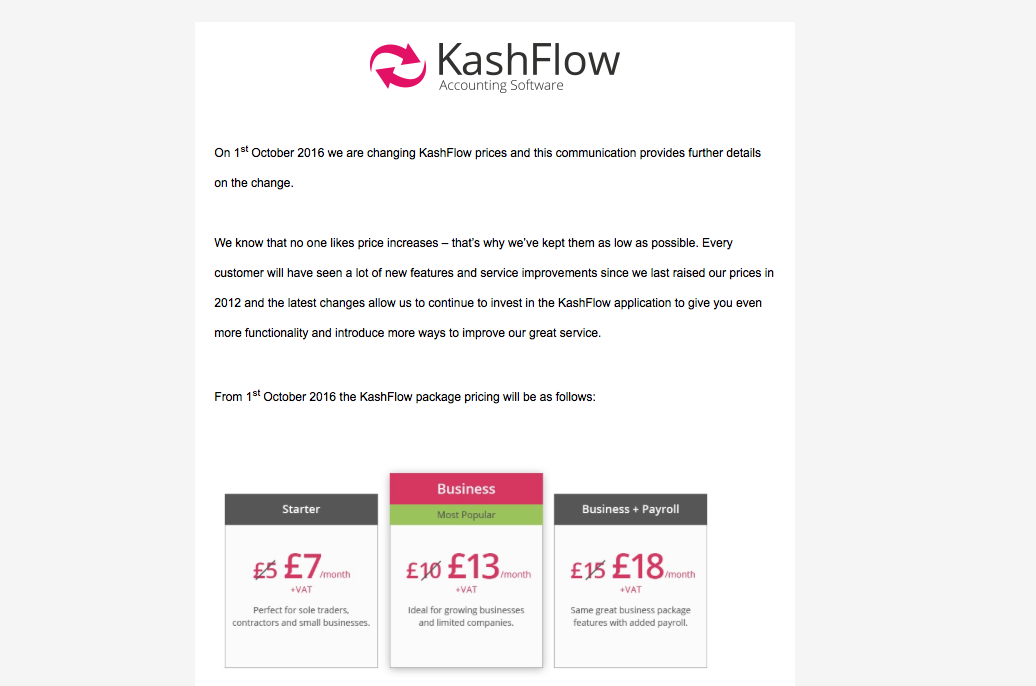 e1b212e59f How to let customers know you re increasing your prices