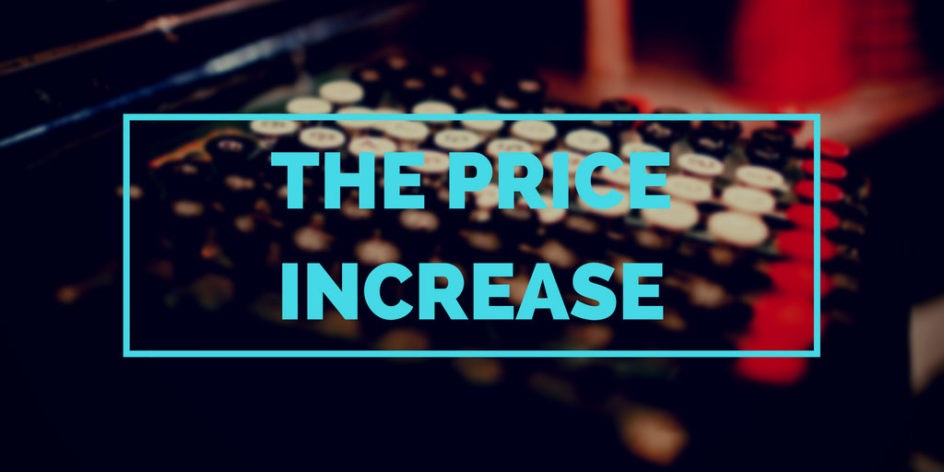 How to share the news of a price increase