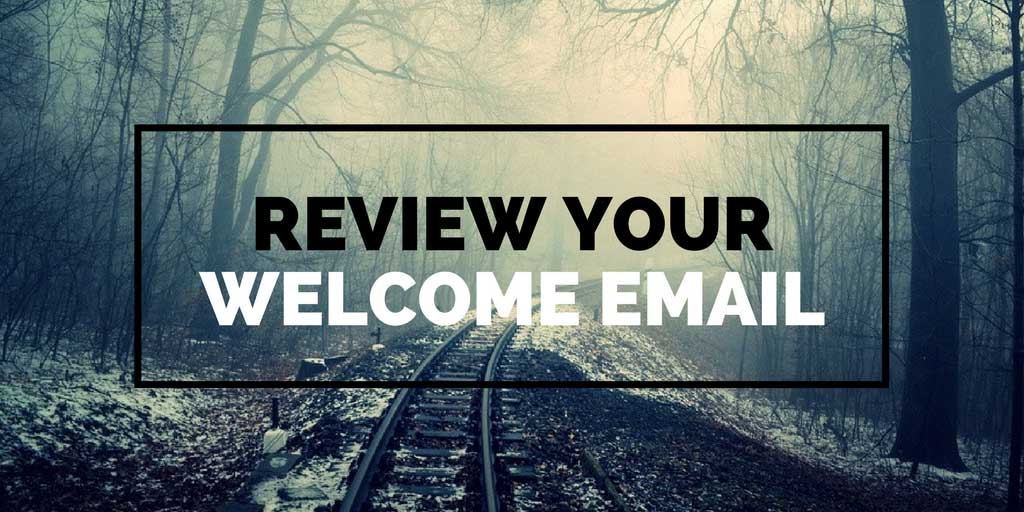 Email Welcome - Review