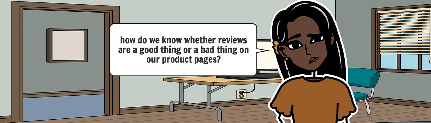 """Featured image for """"How do you measure the impact of customer reviews on your product conversion rates?"""""""